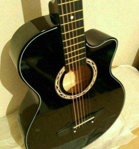 Гитара новая+чехол