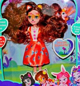 """Кукла Enchantimals"""" """"ЭНЧАНТИМАЛС"""" Девочки зверушки"""