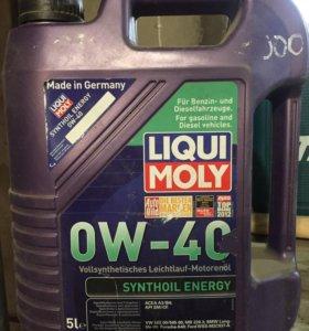 Масло Liqui Moly 0w40 5 литров