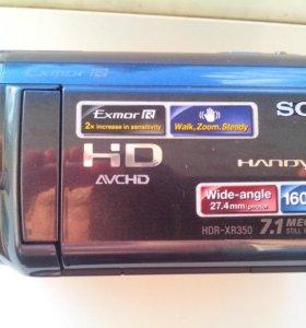 Видеокамера Sony HDR XR350