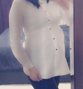 Рубашка-туника для беременной 46р.