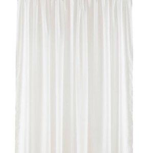 Белая штора(тюль)