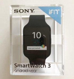 Умные часы Sony SmartWatch 3 SWR50 на 23 февраля