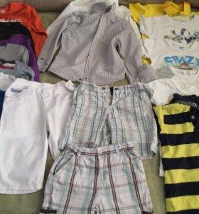 Вещи на мальчика пакетом на 4-5 лет