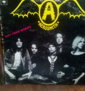 "AEROSMITH ""GET YOUR WINGS"" 1974"