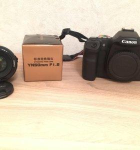 Canon eos 40d и 50мм 1,8