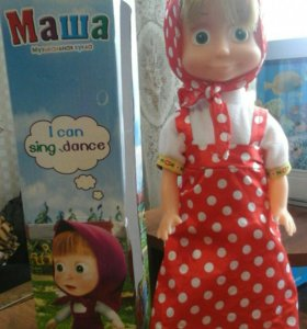 Маша- кукла музыкальная.