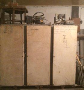 Холодильник трёх камерный