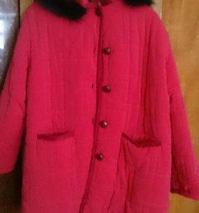 Куртка теплая хорошее состояние