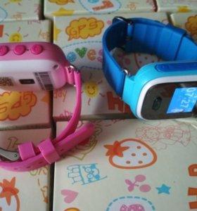 Детские часы с GPS трекером. Новые, гарантия