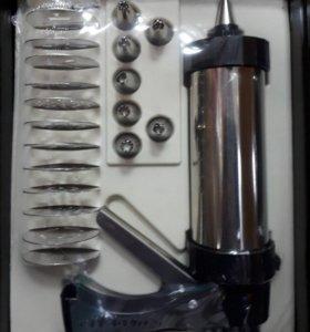 Кондитерский шприц для крема и печенья