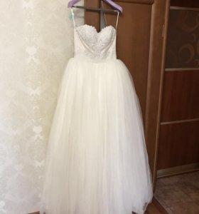 Свадебное платье. Пышное.