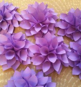 Цветы украшения