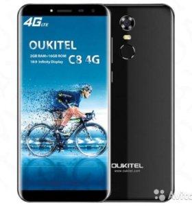 Oukitel C8 4G LTE новый