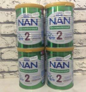 NAN2 кисломолочная смесь