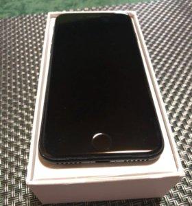 Айфон 7 32 гб чёрный матовый