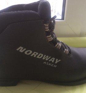Ботинки лыжные р.40