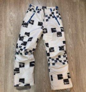 Сноубордические штаны новые зимние