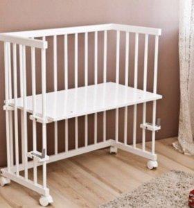 Кроватка детская (приставная)