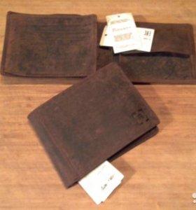 Бумажник мужской, новый, не б/у, натуральная кожа