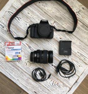 Фотоаппарат Canon EOS 600D body + объектив