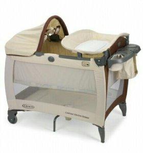 Кровать-манеж Graco contour electra Deluxe