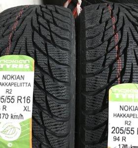 Нокиан Хаккапелита R2 205/55/16 94R XL