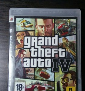 Диск GTA IV