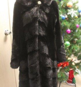 Элитная норковая шуба 50-52 размер