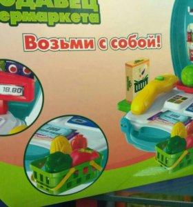 Новый набор продавец супермаркета