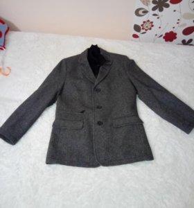 Пальто мужское размер 44-46 цвет серый