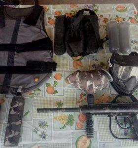 Комплект пейнтбольного снаряжение