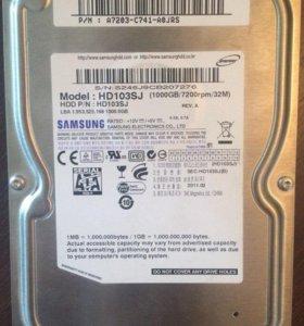 Жесткий диск Samsung HD103SJ 1 TB