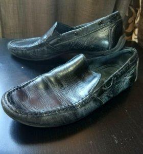 Кожаные туфли 35р