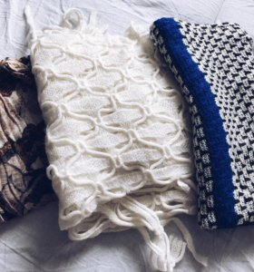 3 шарфа