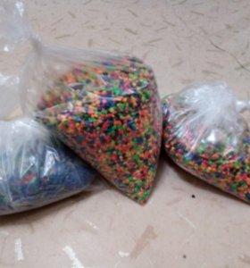 3 пакета грунта