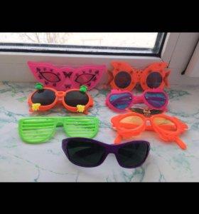 Детские очки новые