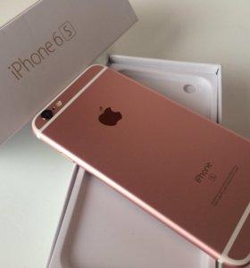 iPhone 6s(16) розовый