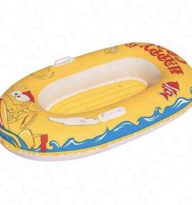 Надувная детская лодка bestway