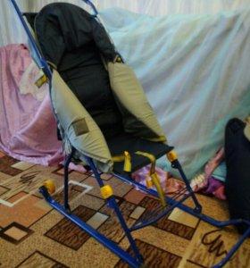 Сани-коляска.