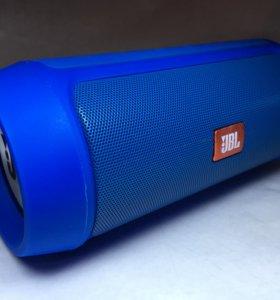 Портативная колонка JBL Charge 2+ Синяя НОВАЯ!!!