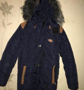 Хорошая тёплая куртка на мальчика