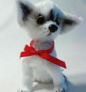 Чихуахуа, вязанная собака