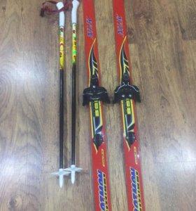 Лыжи детские 110 см
