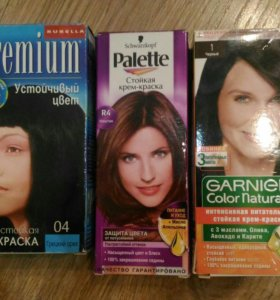 Краска для волос бесплатно.
