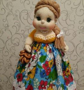 кукла интерьерная (грелка на чайник