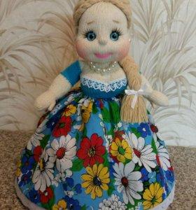 кукла интерьерная (грелка на чайник)