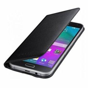 Чехол книжка Samsung GALAXY E5