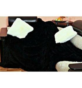 Плед травка+ 2 подушки