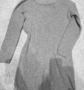 Свитшот свитер джемпер платье Bershka, размер М